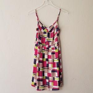 .Splendid//Multicolor Spaghetti Strap Dress